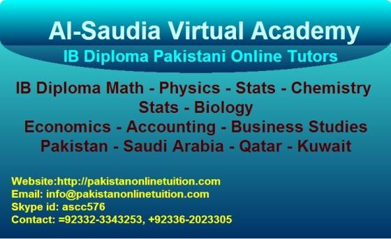 IB Diploma Tutor Math, Physics, Stats, chemistry, Biology